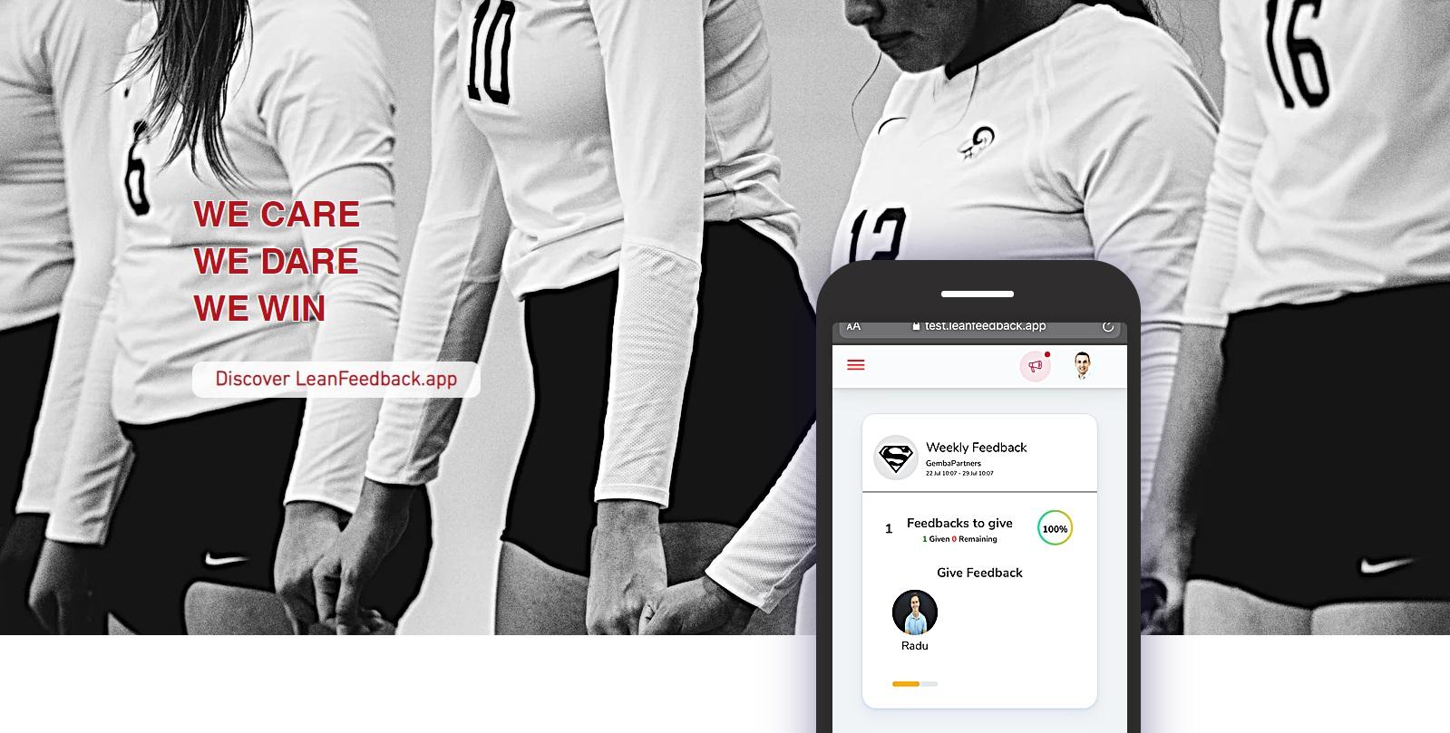 Gemba Partners lansează LeanFeedback.app, un sistem online de management axat pe echipă