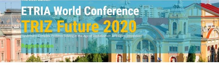 """Cluj-Napoca găzduiește în această toamnă ETRIA World Conference """"TRIZ Future"""""""