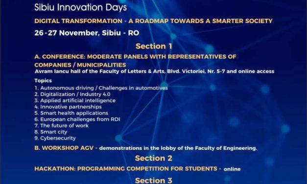 Sibiu Innovation Days 2020