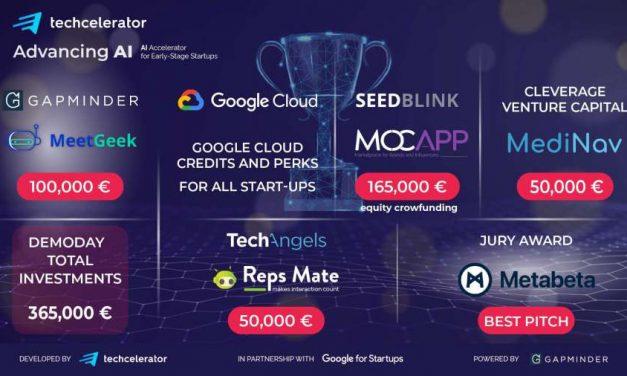 Investiții de 365.000 de euro în startup-uri din cadrul AdvancingAI, primul program de accelerare dedicat inteligenței artificiale din România