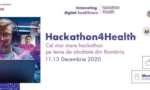 Câștigătorii Hackathon4Health 2020, proiecte cu impact real în inovația digitală a sistemului de sănătate din România