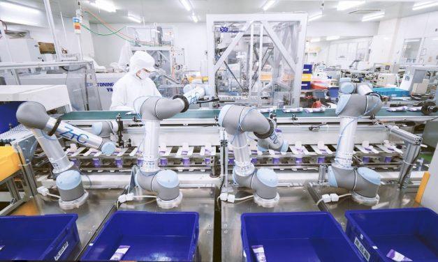 Roboții colaborativi și potențialul automatizării în industria alimentară