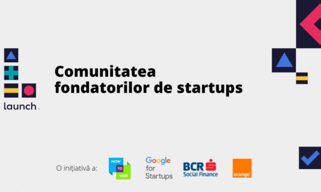 Prima comunitate a fondatorilor de startups din România