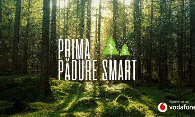 """Vodafone lansează primul proiect de """"pădure inteligentă"""" din România, prin care pot fi detectate tăierile ilegale"""