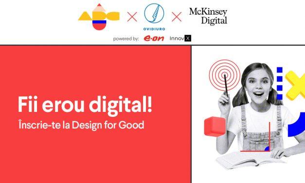 S-a lansat Design for Good, o competiție digitală care vrea să rezolve analfabetismul funcțional