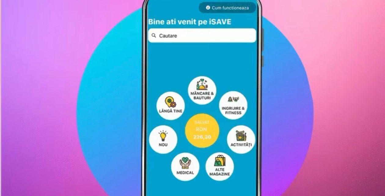 iSave, aplicația care oferă reduceri în domeniul serviciilor
