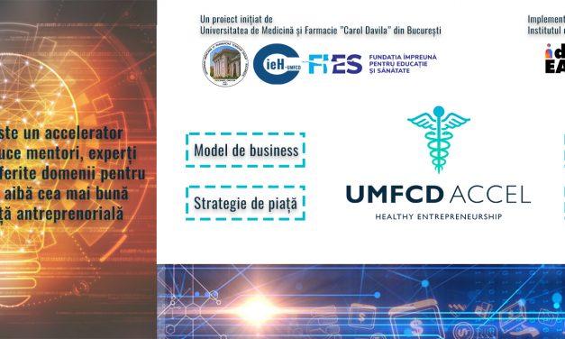"""Programul de accelerare digitală ,,UMFCD Accel""""  a ajuns la etapa finală"""
