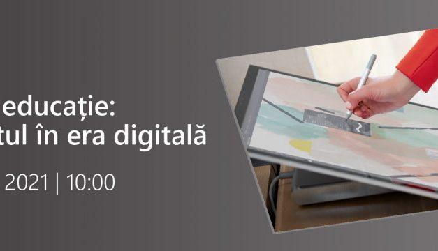 Inovație în educație: Învățământul în era digitală, tema întâlnirii organizate de Microsoft pe 16 septembrie