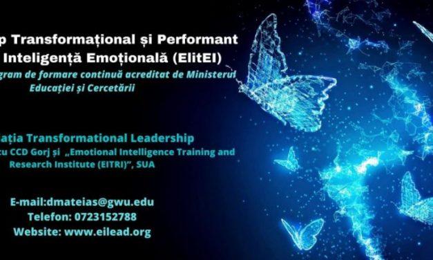 Program inovator de formare continuă, leadership transformațional și performant axat pe inteligența emoțională